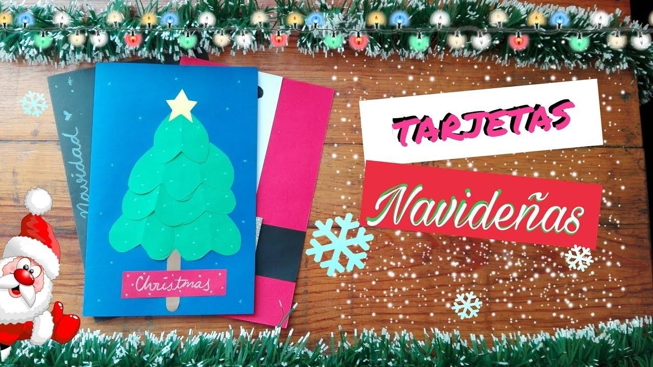 Manualidades Regalar En Navidad.3 Tarjetas Faciles Para Regalar En Navidad Manualidades