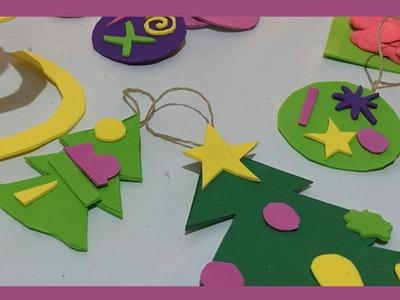 Adornos de Navidad para niños  Manualidades infantiles de Navidad