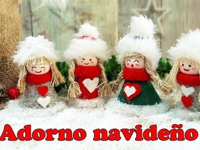 Adornos navideños con tapones de corcho. Manualidades para Navidad 2018