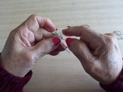 APRENDAMOS A TEJER FRIVOLIDAD LECCION 32 WE LEARN TO KNIT FRIVOLITE LESSON 32