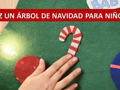 ÁRBOL DE NAVIDAD PARA NIÑOS - Estimula su creatividad - Manualidades Baby Fresh