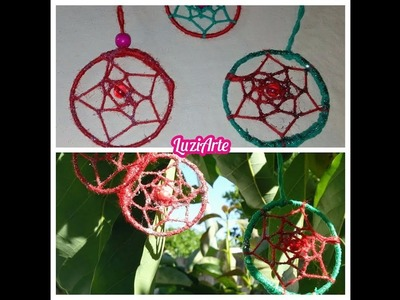 Atrapasueño Bola de Navidad - Adorno Navideño - Christmas Ornament Dreamcatcher