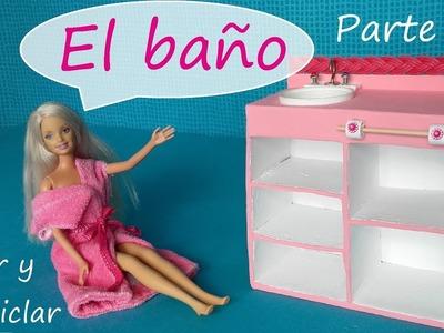 Baño para muñecas parte 1 DIY