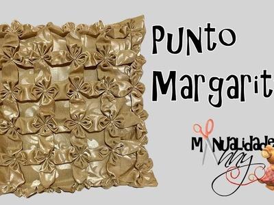 Cojin Flor de Loto o margarita, Manualidades Anny