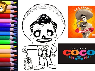Como Dibujar - Ernesto dela cruz- Kawaii - Dibujos para niños - Draw and Coloring Book for Kids