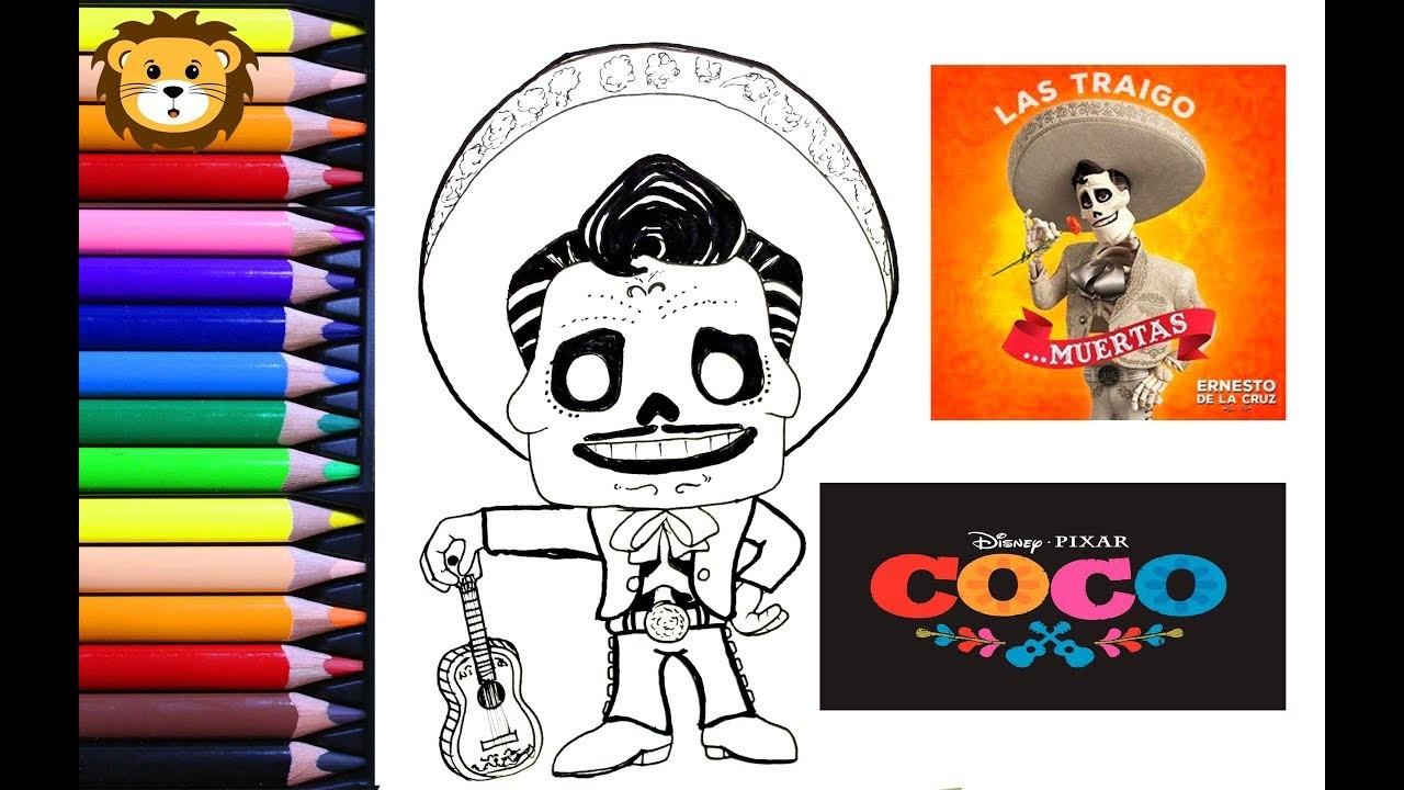Como Dibujar - Ernesto dela cruz- Kawaii - Dibujos para niños - Draw and Coloring Book for Kids