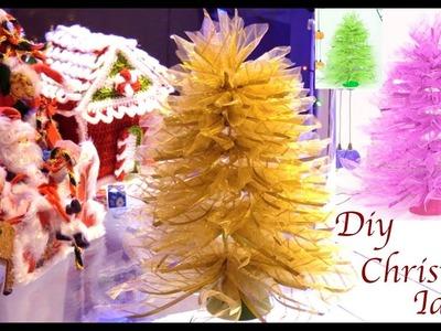 Como hacer arbolitos de Navidad decorando la casa para las fiestas navideñas