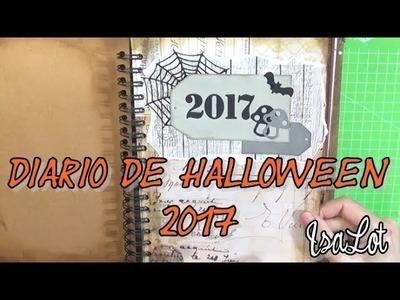 Cómo quedó el Diario de Halloween 2017 | Scrapbooking