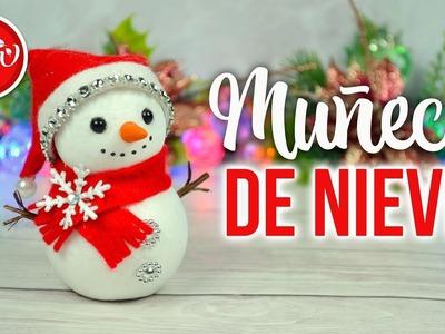 DECORACIÓN DE NAVIDAD - DIY Muñeco de nieve | DREEN