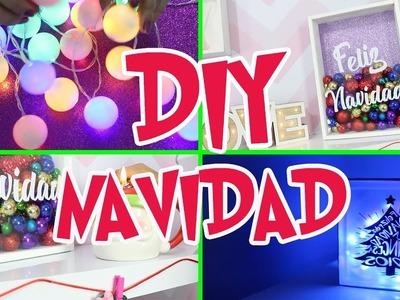 DIY: 5 Ideas Para Decorar en Navidad! Lorena G ♥