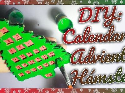 DIY CALENDARIO ADVIENTO PARA HAMSTER | Navidad