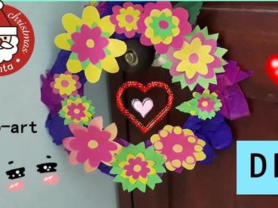 DIY Corona de flores | DECO-ART