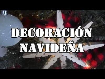 DIY | DECORACION RUSTICA DE NAVIDAD FACIL! ????