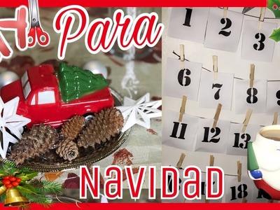 DIY for CHRISTMAS.MANUALIDADES para NAVIDAD | MIMIROSAS
