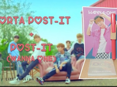 [ DIY K-POP ]:Haz un porta Post-it de Wanna One+Post-it☆Wanna One DIY☆