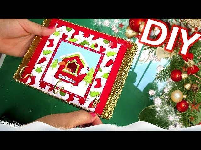 DIY.Manualidad De Navidad.Porta Llaves.Hecho De Cartón. RECICLAJE ????