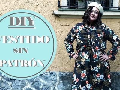 DIY vestido sin patrón súper fácil