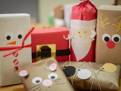 Empaques divertidos para tus regalos + 15 ideas para Navidad Dulce manzana