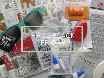 Haul del Black Friday en Kimidori y Mi Tienda de Arte - scrapbooking -