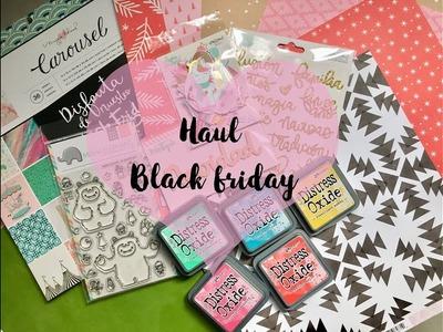 Haul scrapbooking noviembre 2017 Black Friday  Kimidori rita rita y up and scrap