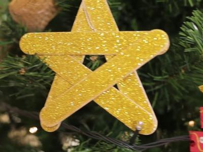 Haz los adornos para tu árbol de Navidad