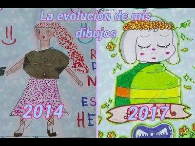 ✡La evolución de mis dibujos. 2014-2017✡