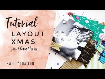 Layout Navidad Scrapbooking | Nanook una aventura polar