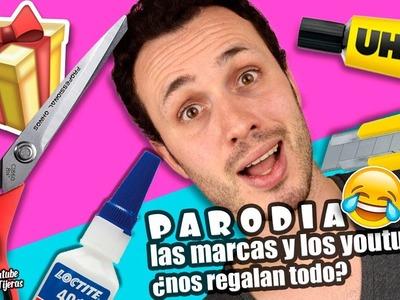 PARODIA COLABORACIÓN CON MARCAS + HAUL MATERIALES MANUALIDADES