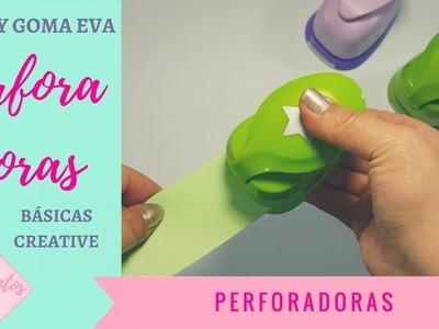 Perforadoras PAPEL Y GOMA EVA  adix CREATIVE para scrapbooking y manualidades