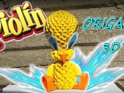 Piolín en Origami 3D - LEYENDA ORIGAMI