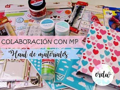 SUPER HAUL MADRID PAPEL (MP) || MATERIAL PARA MANUALIDADES Y SCRAPBOOKING ||