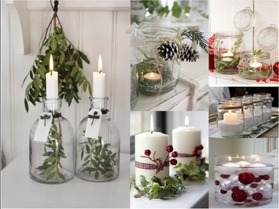 Tips de decoración y manualidades navideñas N2 - Ideas de decoración - Velas