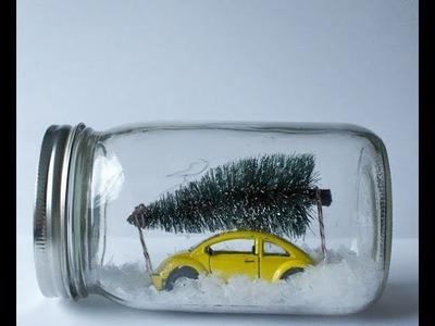 Tips de decoración y manualidades navideñas N 3 - Ideas de decoración - Bolas de nieve
