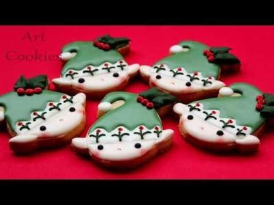 Tutorial Galleta Elfo de Navidad - Xmas Elf Cookies