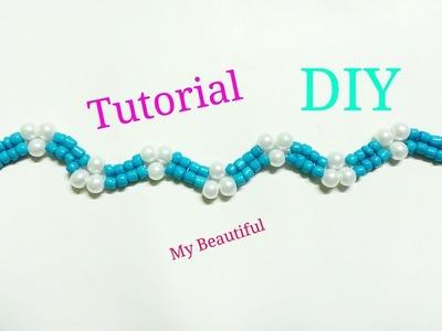 #13 DIY Tutorial pulsera de verano. How to make