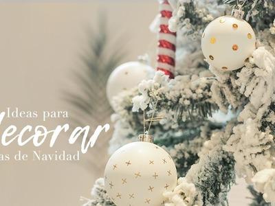 4 ideas para decorar las bolas del árbol de Navidad | Navidad Westwing