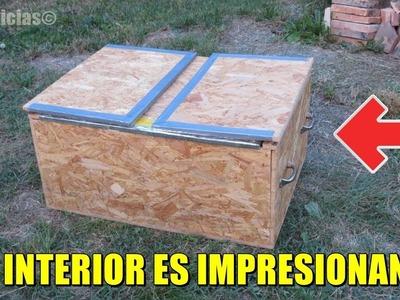 A primera vista, puede parecer una aburrida caja normal, pero después de abrirlo ¡WOW!