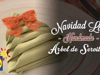 Árbol de Servilleta - Handmade Navidad