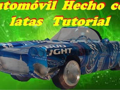 Automovil Hecho con Latas Tutorial