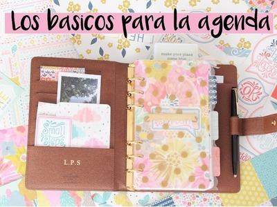 Básicos de scrap y papelería para decorar la agenda | styleandpaper