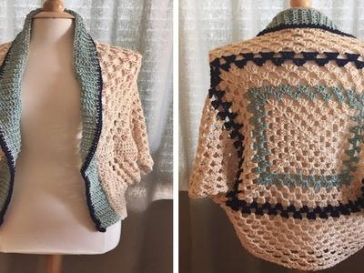 Blusa -- Tejidos a Crochet -- fácil de hacer