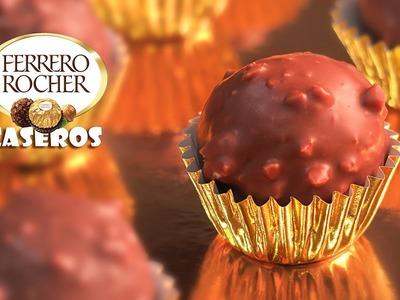 Bombones al estilo Ferrero Rocher