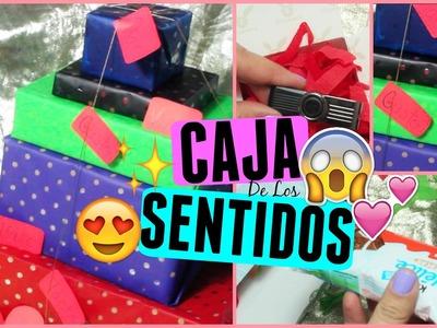 CAJA DE LOS SENTIDOS! REGALO ORIGINAL SAN VALENTIN | Sarai♥