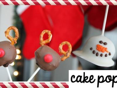 Cake Pops Navideñas ¡SIN HORNO! | #christmasbakingday6