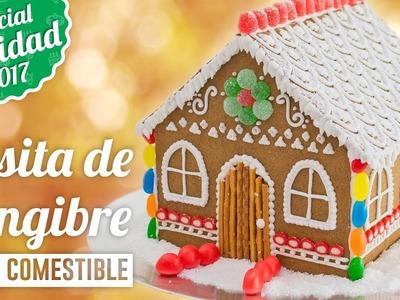 CASITA DE GALLETAS DE JENGIBRE    ESPECIAL NAVIDAD   Quiero Cupcakes!