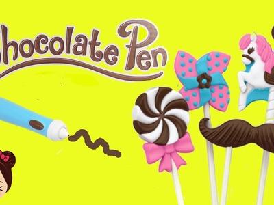 Chocolate Pen - Paletas de Chocolates - Fabrica de Chocolates Juguete