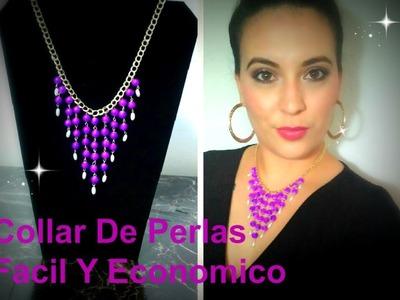 Collar De Perlas Facil !! |  NOVA DESIGN