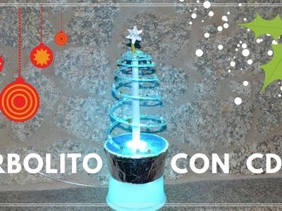 Cómo Crear Arbolito Navideño Con CDS | Tutorial Creativo