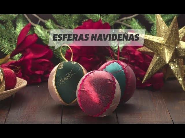 Cómo Hacer Esferas De Navidad Decoradas