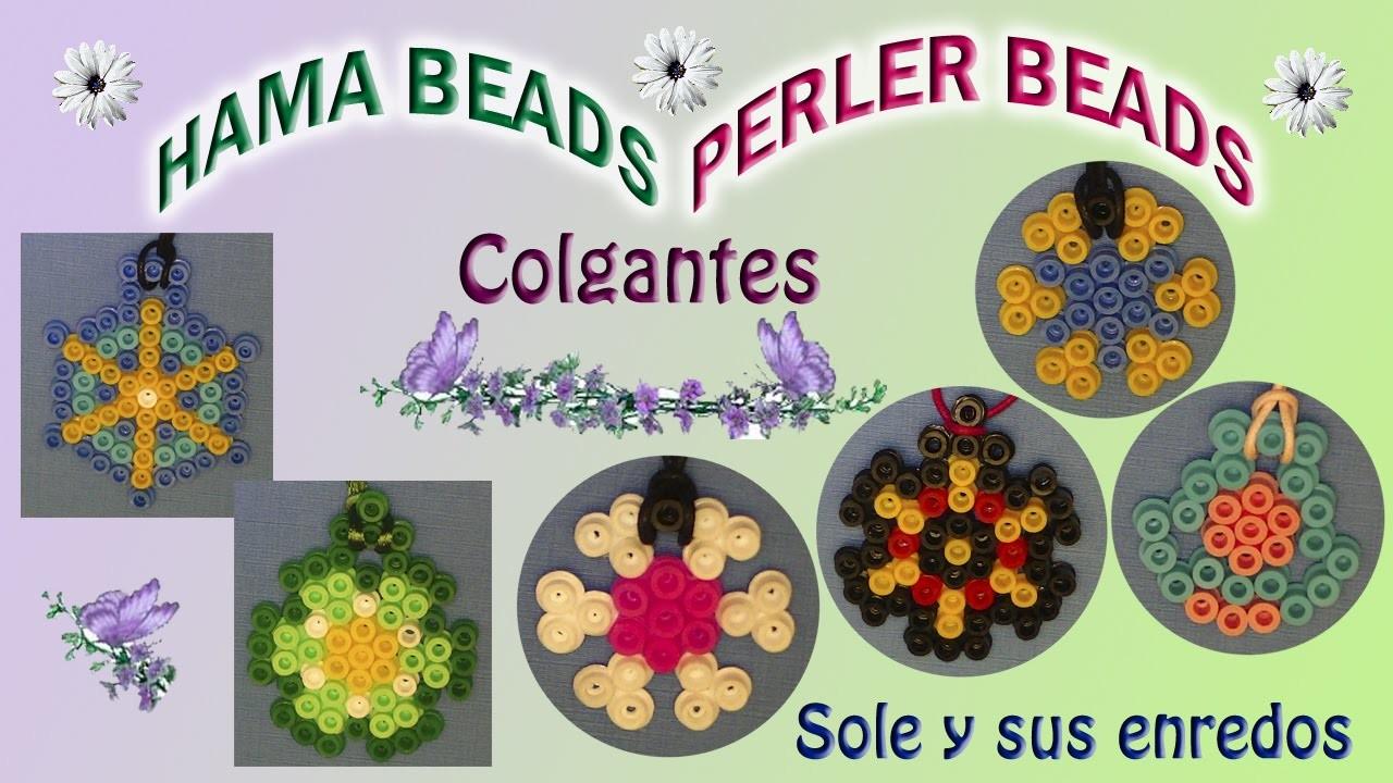 Cómo hacer un COLGANTE con HAMA beads